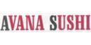Avana Sushi Menu
