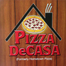 Pizza DeCasa Menu