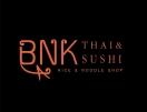 BNK Thai & Sushi Menu