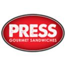 Press Gourmet Sandwiches Menu