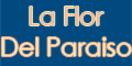 La Flor Del Paraiso Menu