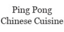 Ping Pong Chinese Cuisine Menu