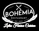 Bohemia Restaurant Menu