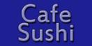 Cafe Sushi Menu