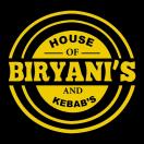 House of biryani's Kebabs Menu