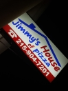 Jimmy's House of Pizza Menu