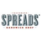 Spreads Sandwich Shop Menu