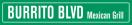 Burrito BLVD Menu