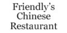 Friendly's Chinese Restaurant Menu