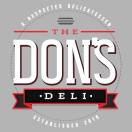 The Don's Deli Menu