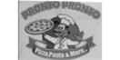 Pronto Pronto Pizza Menu