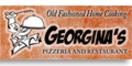Georgina's Pizzeria Menu