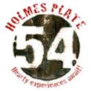Holmes Plate 54 Menu
