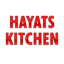 Hayats Kitchen Menu