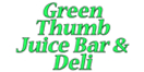 Green Thumb Juice Bar & Deli Menu