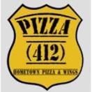 Pizza 412 Menu