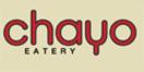 Chayo Eatery Menu
