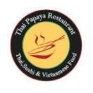 Thai Papaya Menu