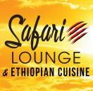 Safari Lounge & Ethiopian Cuisine Menu