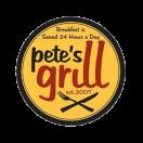 Pete's Grill Menu