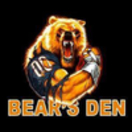 The Bears Den Menu