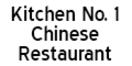 Kitchen No. 1 Chinese Restaurant Menu
