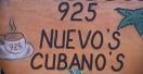 925 Nuevos Cubanos Menu