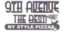 9th Ave The Best Pizza Menu