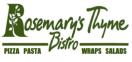 Rosemary's Thyme Bistro Menu