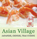 Asian Village Menu