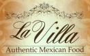 La Villa Mexican Food Menu