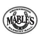 Mable's Smokehouse & Banquet Hall Menu