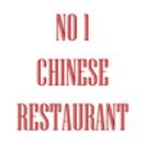 No 1 Chinese Restaurant Menu