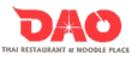 DAO Thai Restaurant Menu