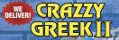 Crazzy Greek 2 Menu