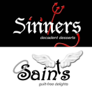 Sinners & Saints Desserts Menu