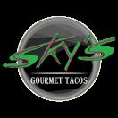 Sky's Gourmet Tacos Menu