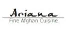 Ariana Fine Afghan Cuisine Menu