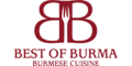 Best Of Burma Menu