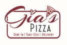 Gia's Pizza Menu