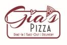 Gia's Pizza Menu