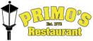 Primo's Pizza Menu