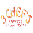 3 Chef's Chinese Restaurant Menu
