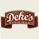 Deke's BBQ Menu