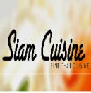 Siam Cuisine Menu