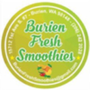 Burien Fresh Smoothies Menu