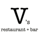 V's Restaurant + Bar Menu