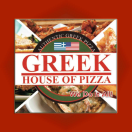 Greek House of Pizza Menu