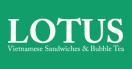 Lotus Vietnamese Sandwiches Menu