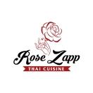 Rose Zapp Thai Cuisine Menu